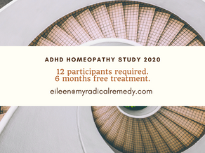 Take part in an ADHD homeopathic research study, and get FREE specialist treatment for 6 months