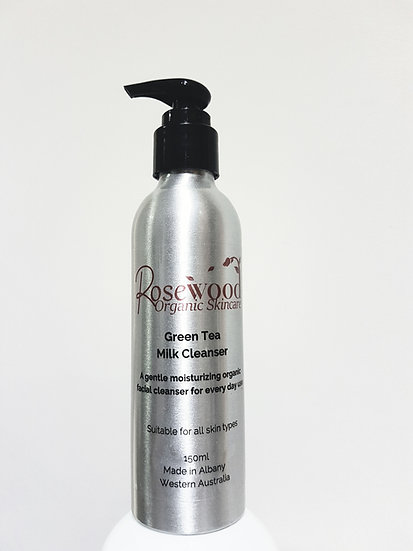 ROSEWOOD Green Tea Cleansing Milk