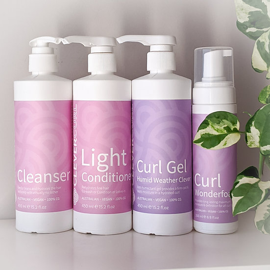 Clever curl light curly pack