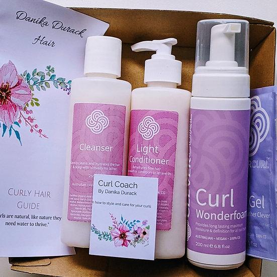 Wavy Clevercurl gift set