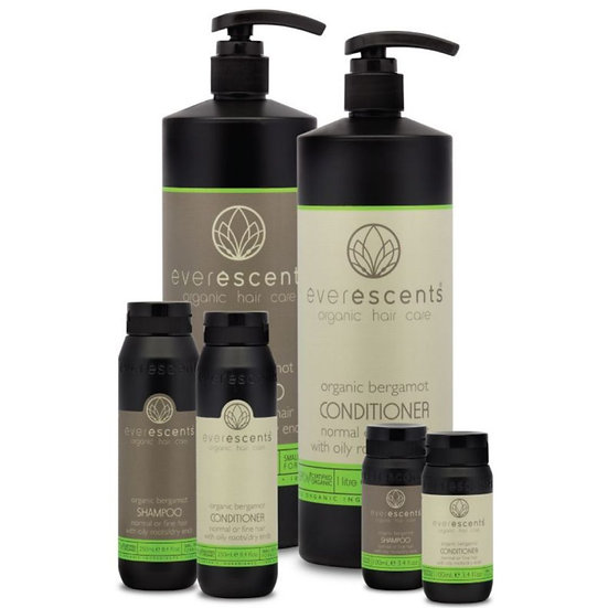 EVERESCENTS BERGAMONT fine hair or oily roots / dry ends 250ml