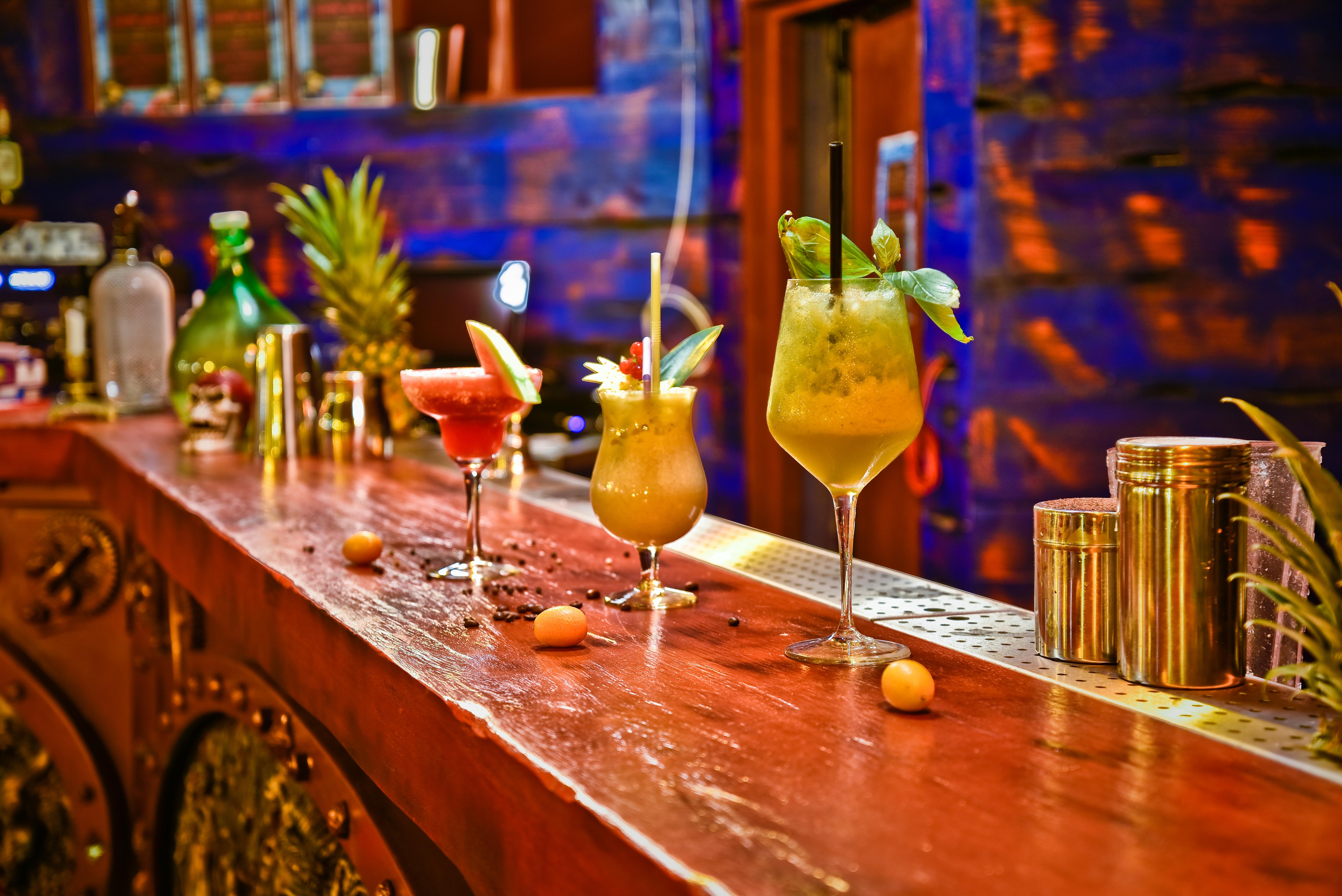 Lounge Bar le Poséidon cocktails