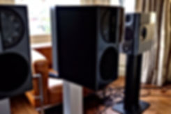 Manger C-1 active loudspeakers