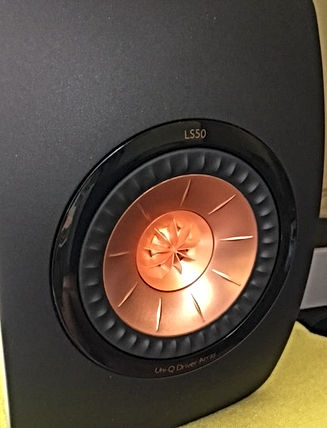 KEF LS50 black/copper