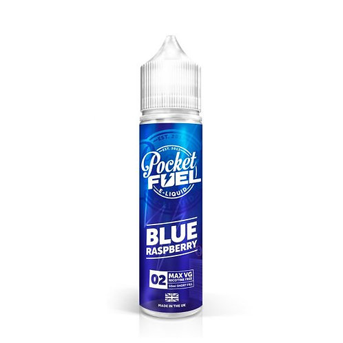 BLUE RASPBERRY 60ML FROM POCKET FUEL