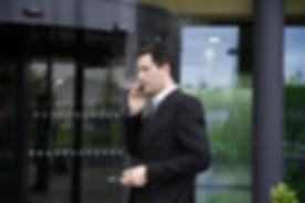 man outside office vape.jpg