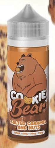 SALTED CARAMEL AND NUTS - COOKIE BEAR