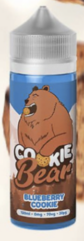 BLUEBERRY  - COOKIE BEAR