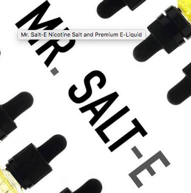 NIC SALT 10ML RANGE