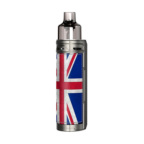 DRAG X POD KIT BY VOOPOO - SILVER KNIGHT