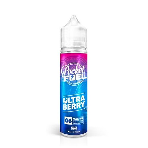 ULTRA BERRY 60ML FROM POCKET FUEL