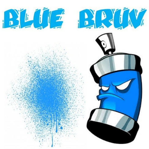 BLUE BRUV 60ML SHORTFILL