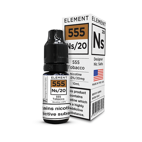 555 TOBACCO 10ML NIC SALTS