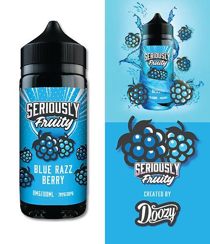 BLUE RAZZ BERRY SERIOUSLY FRUITY 120ML