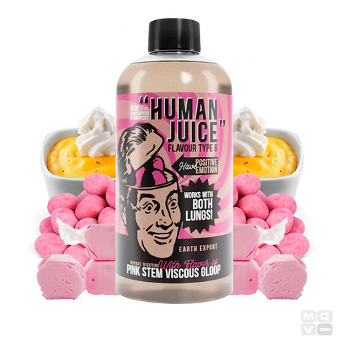 HUMAN PINK STEM VISCOUS GLOOP 200ML + 4 NIC SHOTS