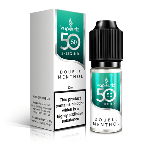 DOUBLE MENTHOL 10ML
