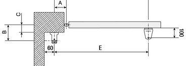 Автоматика для распашных ворот CAME AXI BROWN