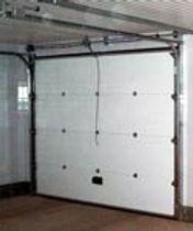 Секционные подъемные автоматические ворота