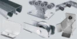 Комплекты оборудования / фурнитура для откатных ворот CAME и ALUTECH
