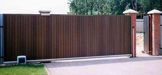 Откатные ворота с автоматикой CAME BK-1200
