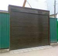 Подъемные рулонные ворота