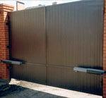 Распашные автоматические ворота