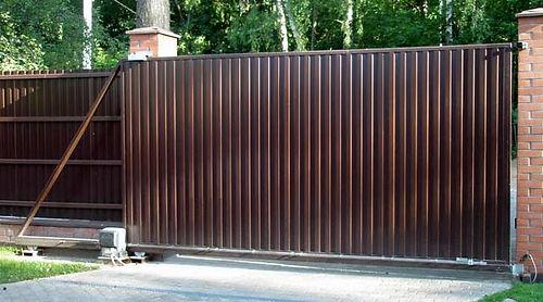 Откатные ворота с автоматикой CAME BX-78