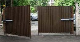 Распашные ворота с автоматикой CAME ATI3000