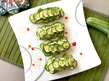 Filetti di merluzzo in crosta di zucchine