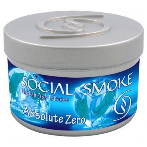 SOCIAL SMOKE - ABSOLUTE ZERO - 250GM
