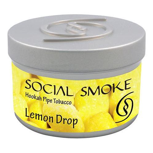 SOCIAL SMOKE -LEMON DROP- 100GM
