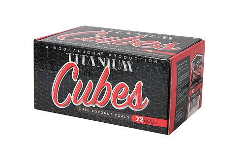 Titanium Cubes Charcoal 72 pc