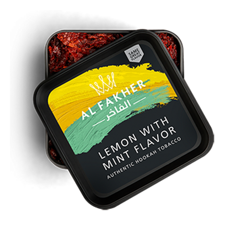 Al-Fakher Lemon with Mint- 250gm