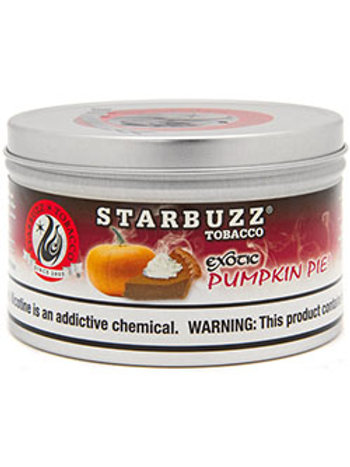 STARBUZZ- PUMPKIN PIE-250GM