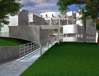 3d High museum, High museum