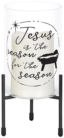 Christmas LED Lamp - JESUS IS THE REASON - 68894