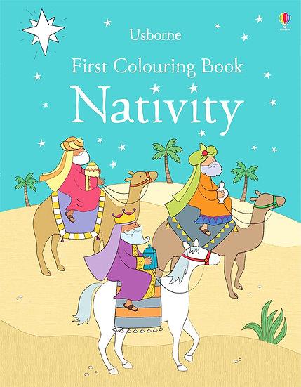 FIRST CLOURING NATIVITY BOOK - 956642