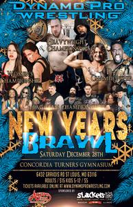 "(Dynamo Pro Wrestling D-1 Champion Camaro Jackson vs. ""The Yoga Monster"" Mike Sydal December 28th, 2018 Promotional Flyer - Courtesy of Dynamo Pro Wrestling)"