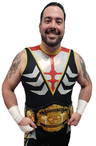 (Dynamo Pro Wrestling D-1 Champion Jayden Dominic Rose – Photo Courtesy of Dynamo Pro Wrestling)