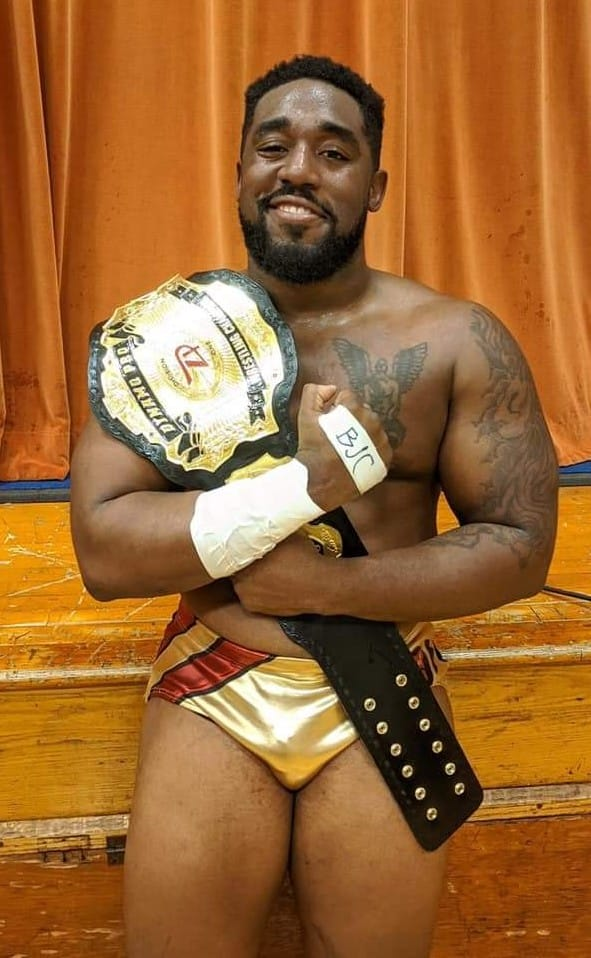 (Dynamo Pro Wrestling D-1 Champion Camaro Jackson – Photo Courtesy of Dynamo Pro Wrestling)