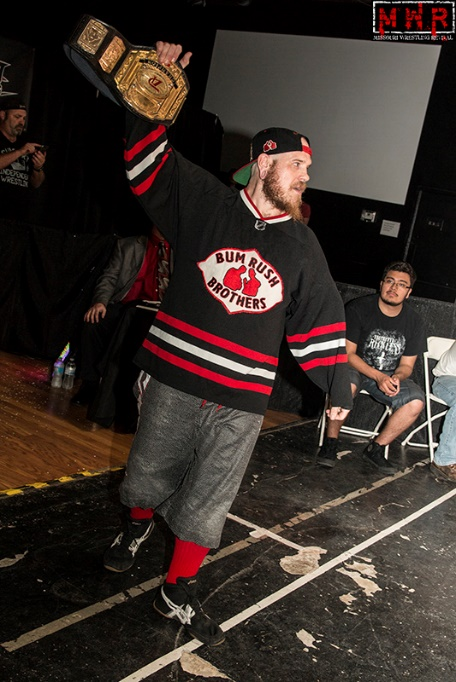 (Dynamo Pro Wrestling D-1 Champion Outtkast – Photo Courtesy of Missouri Wrestling Revival)
