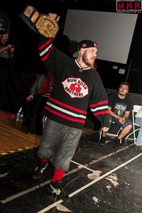 (Dynamo Pro Wrestling D-1 Champion Outtkast – Photo Courtesy of Missouri Wrestling Revival)