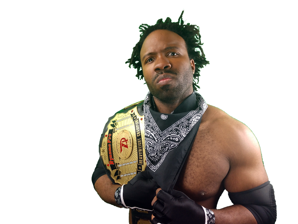 (Dynamo Pro Wrestling D-1 Champion Mike Outlaw – Photo Courtesy of Dynamo Pro Wrestling)