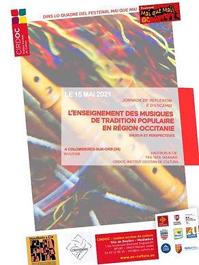 L'enseignement et la transmission des musiques de tradition populaire en Occitanie