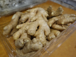 What does one do with nearly 2 pounds of ginger?