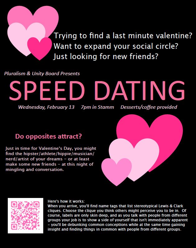 Hipster speed dating