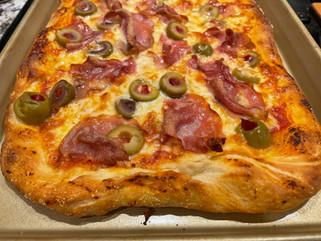 Homemade Sheet Pan Pizza