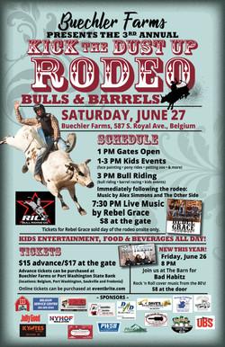 Buechler Farms Rodeo poster 2020 11x17V2