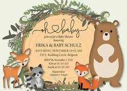 Erika Shulz baby shower invite