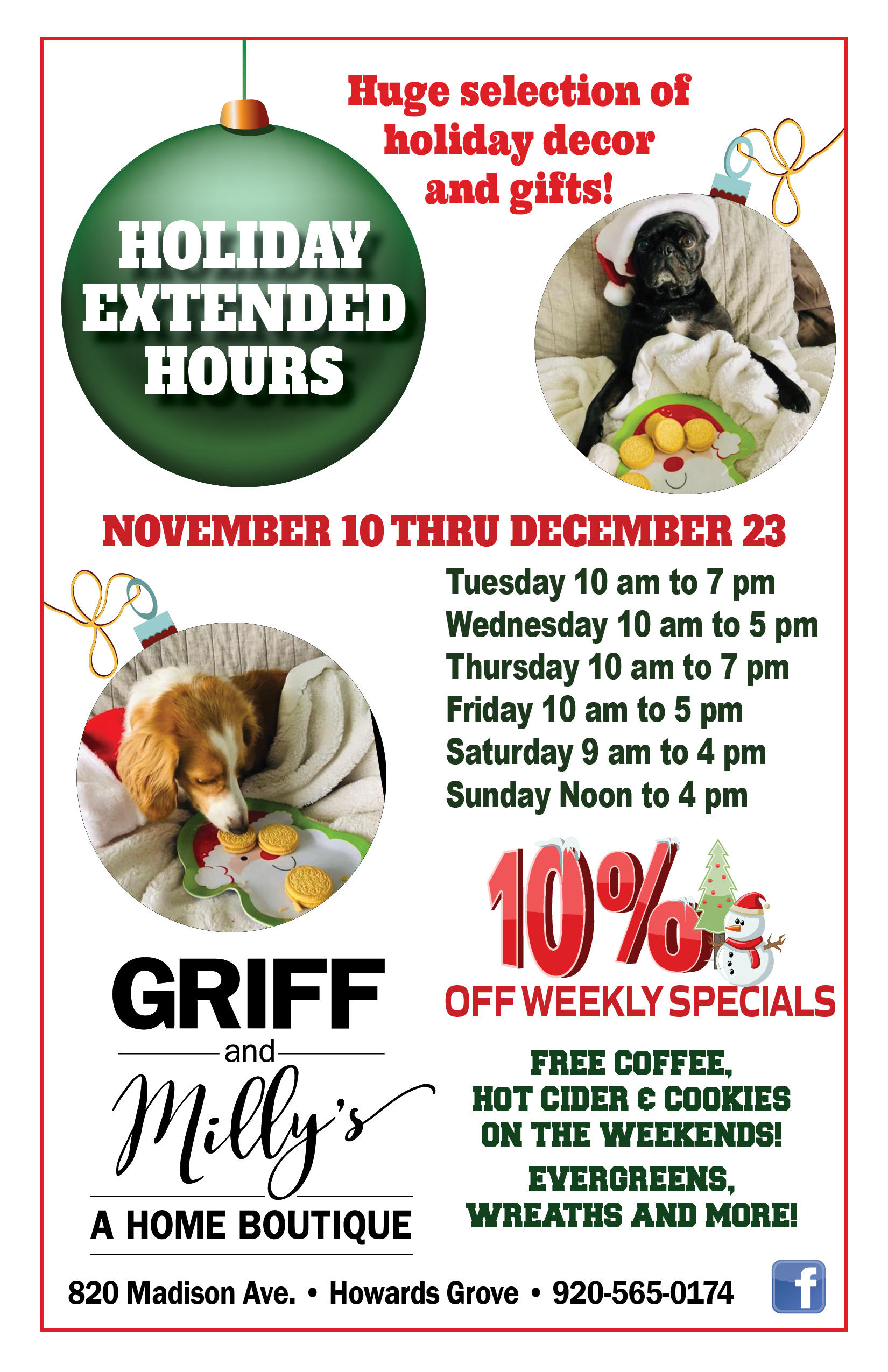 Griff&Millys_HolidayExtended Hours_flyer